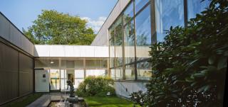 Wäinö Aaltosen museon atriumpiha
